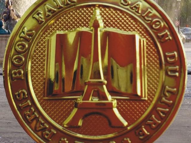 Золотая медаль Парижского книжного салона LIVRE PARIS