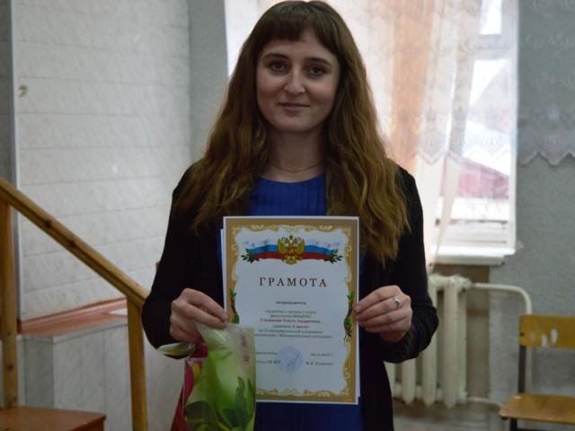 Победитель - Ольга Глушкова