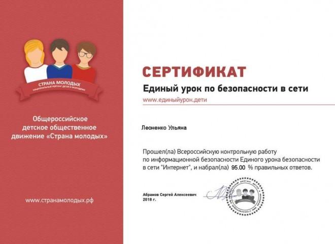 Всероссийская контрольная работа по информационной безопасности