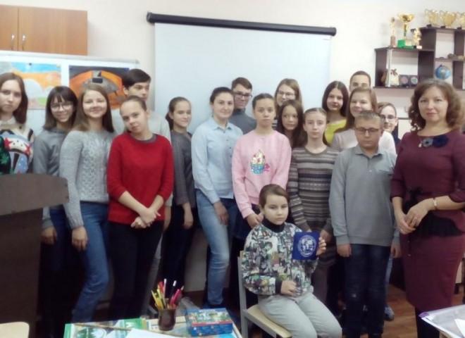 «Встреча с учащимися научного общества «Варварино»»
