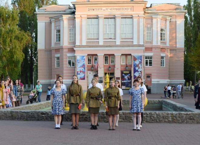 Флешмоб в честь Дня Победы