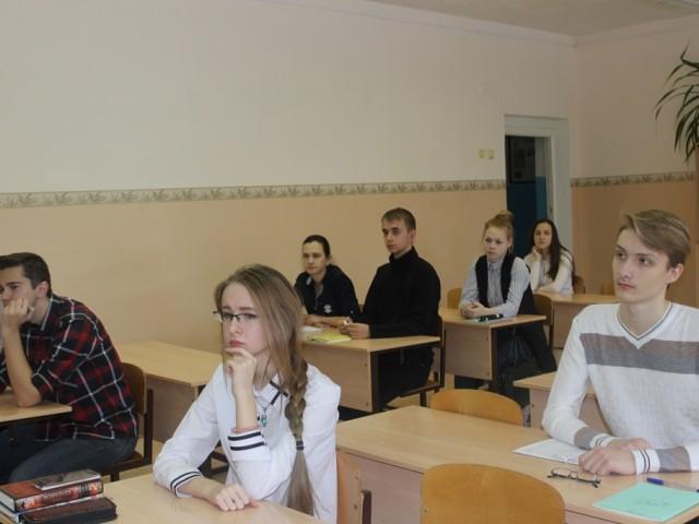 Профориентационные встречи в Михайловке